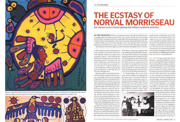 Article Preview: THE ECSTASY OF NORVAL MORRISSEAU, JANUARY 2 6 2004 2004 | Maclean's