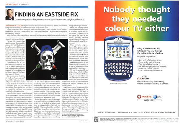 Article Preview: FINDING AN EASTSIDE FIX, JANUARY 2 6 2004 2004 | Maclean's