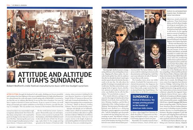 Article Preview: ATTITUDE AND ALTITUDE AT UTAH'S SUNDANCE, February 2004 | Maclean's