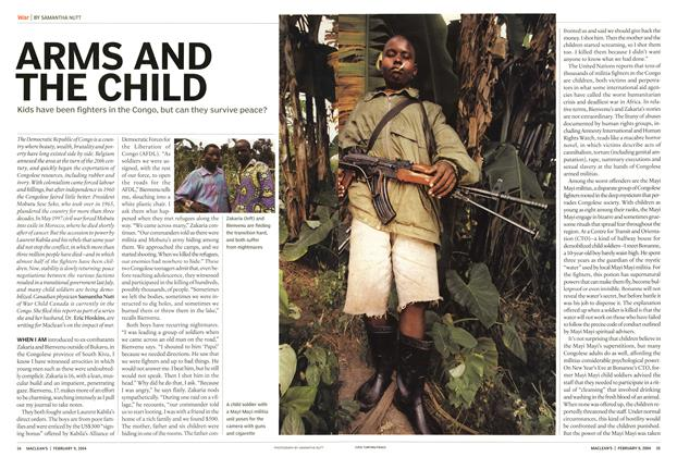 Article Preview: ARMS AND THE CHILD, February 2004 | Maclean's