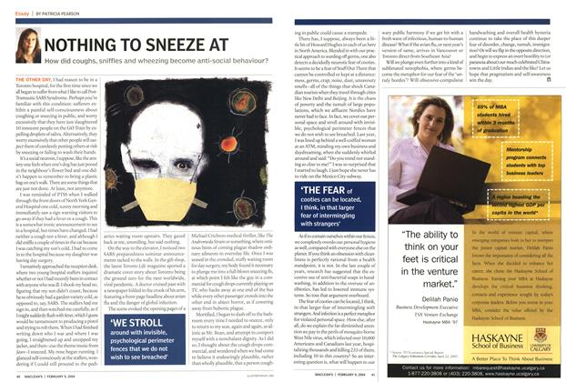 Article Preview: NOTHING TO SNEEZE AT, February 2004 | Maclean's