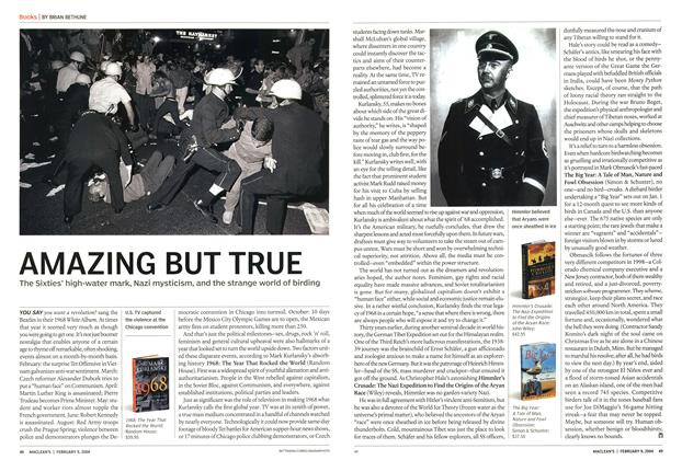 Article Preview: AMAZING BUT TRUE, February 2004 | Maclean's