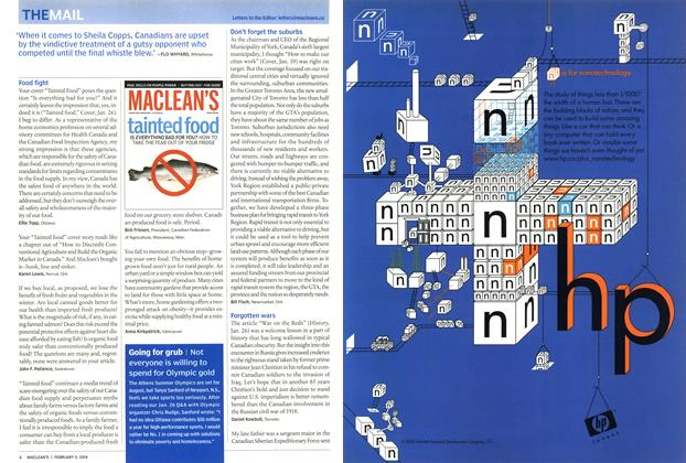 Article Preview: Hewlett-Packard Development Company, February 2004 | Maclean's