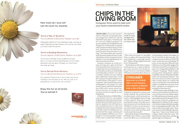 Article Preview: CHIPS IN THE LIVING ROOM, February 2004 | Maclean's