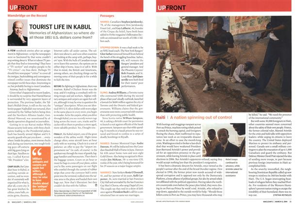 Article Preview: Haiti, March 2004 | Maclean's