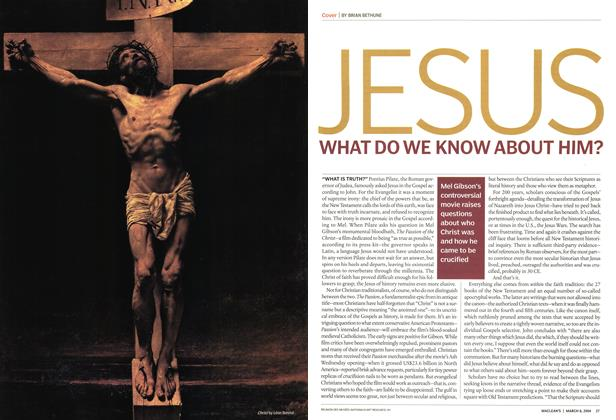 Article Preview: JESUS, March 2004 | Maclean's