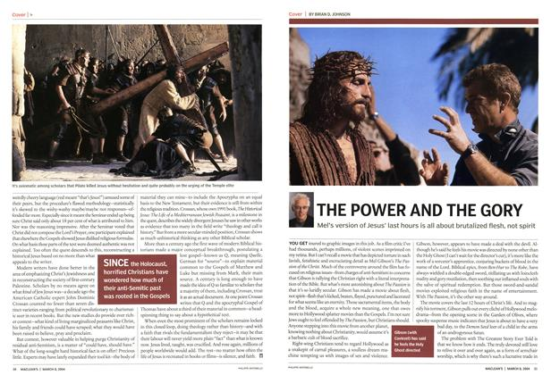 Article Preview: THE POWER AND THE GORY, March 2004 | Maclean's