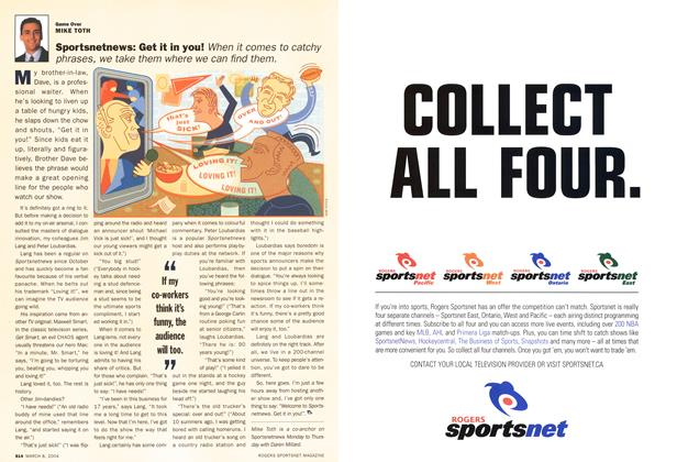 Article Preview: Sportsnetnews: Get it in you!, March 2004 | Maclean's