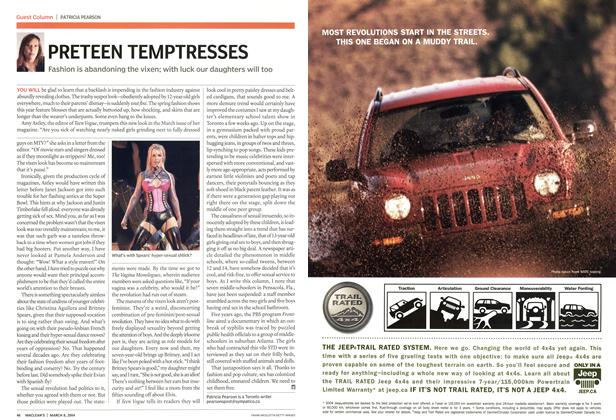 Article Preview: PRETEEN TEMPTRESSES, March 2004 | Maclean's