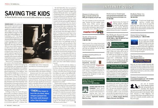 Article Preview: SAVING THE KIDS, March 2004 | Maclean's