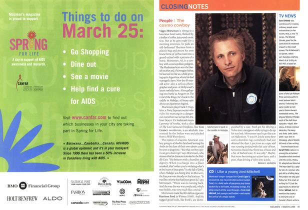 Article Preview: People, March 2004 | Maclean's
