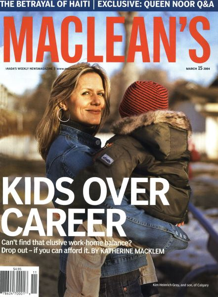 Issue: - March 2004 | Maclean's