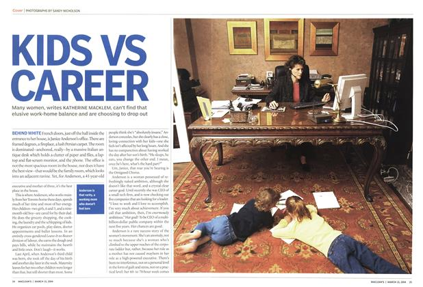Article Preview: KIDS VS CAREER, March 2004 | Maclean's