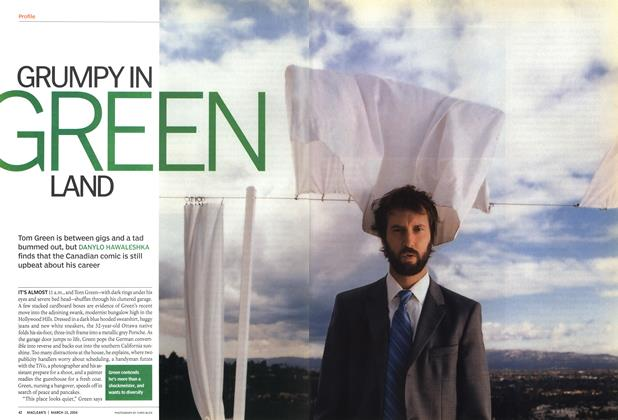 Article Preview: GRUMPY IN GREEN LAND, March 2004 | Maclean's