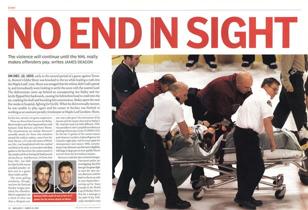 Article Preview: NO END IN SIGHT, March 2004 | Maclean's