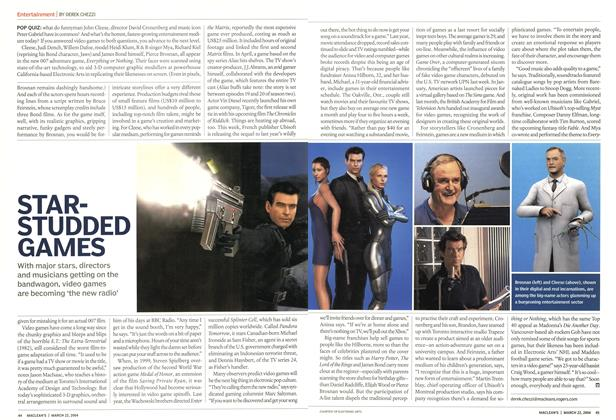 Article Preview: STARSTUDDED GAMES, March 2004 | Maclean's