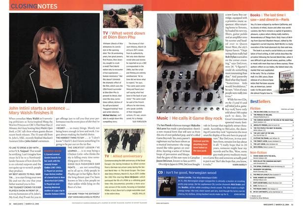 Article Preview: Music, March 2004 | Maclean's