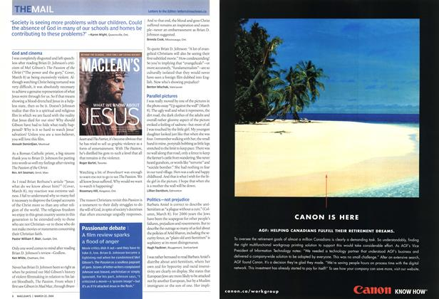 Article Preview: THEMAIL, March 2004 | Maclean's