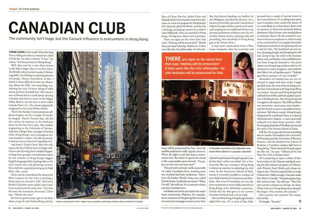 Article Preview: CANADIAN CLUB, March 2004 | Maclean's