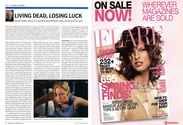 Article Preview: LIVING DEAD, LOSING LUCK, March 2004 | Maclean's
