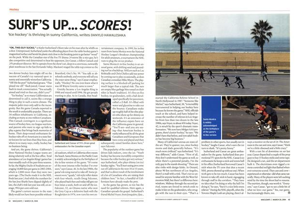 Article Preview: SURF'S UP... SCORES'., March 2004 | Maclean's