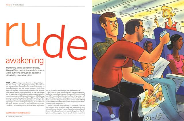 Article Preview: rude awakening, April 2004 | Maclean's