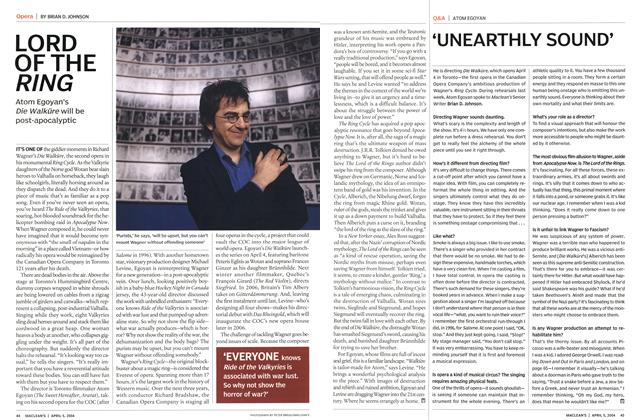 Article Preview: 'UNEARTHLY SOUND', April 2004 | Maclean's