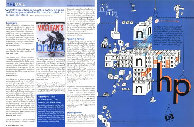 Article Preview: THE MAIL, April 2004 | Maclean's