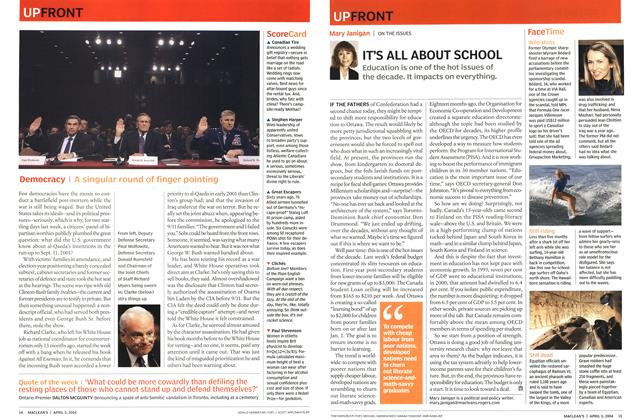 Article Preview: ITS ALL ABOUT SCHOOL, April 2004 | Maclean's