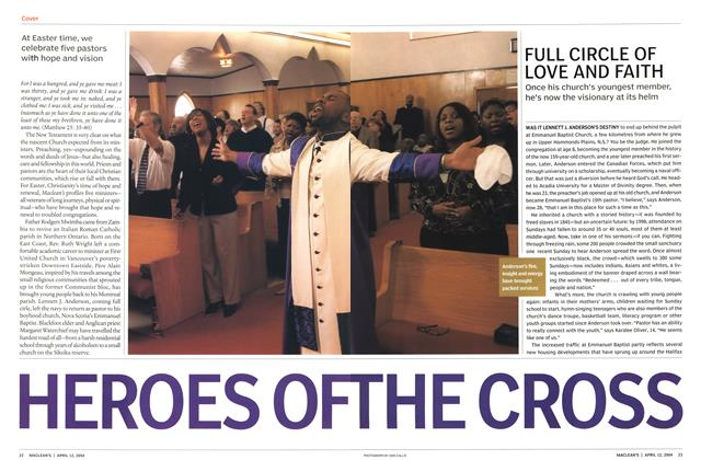 Article Preview: FULL CIRCLE OF LOVE AND FAITH, April 2004 | Maclean's