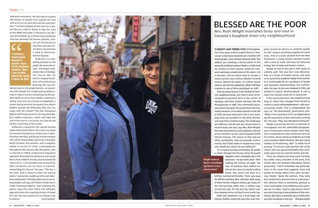 Article Preview: BLESSED ARE THE POOR, April 2004 | Maclean's