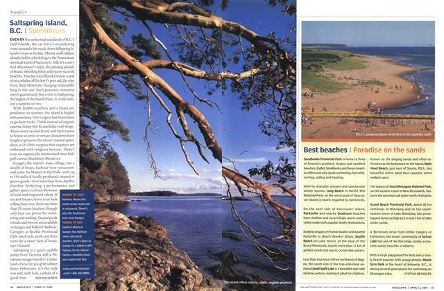 Article Preview: Saltspring Island, B.C., April 2004 | Maclean's
