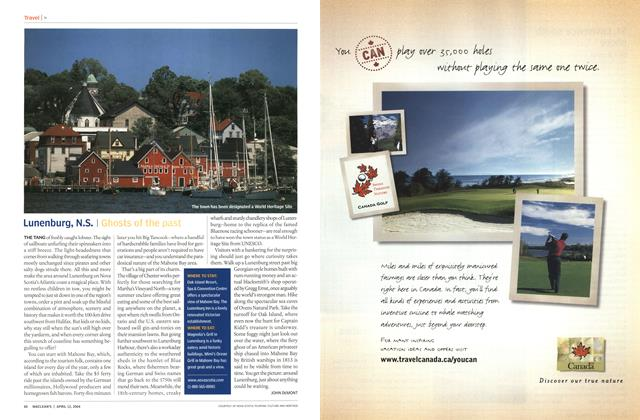 Article Preview: Lunenburg, N.S., April 2004 | Maclean's