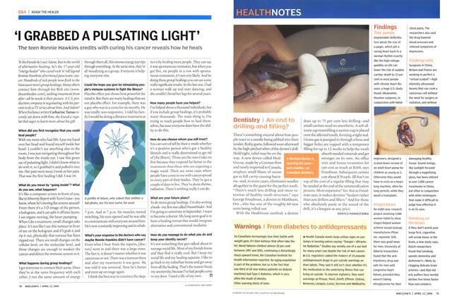 Article Preview: Dentistry, April 2004   Maclean's