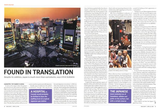 Article Preview: FOUND IN TRANSLATION, April 2004 | Maclean's