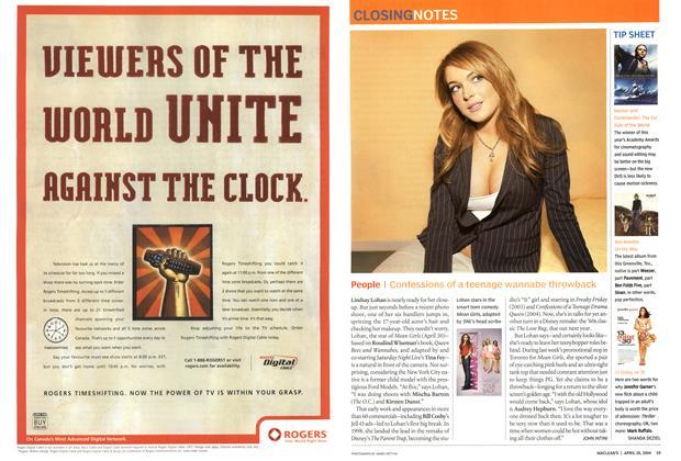 Article Preview: TIP SHEET, April 2004 | Maclean's