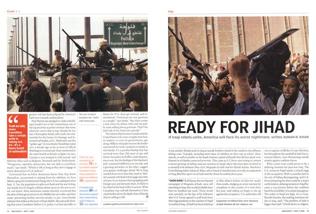 Article Preview: READY FOR JIHAD, May 2004 | Maclean's