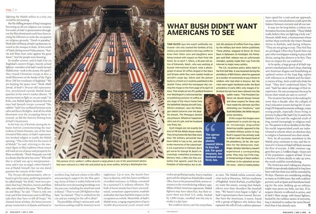 Article Preview: WHAT BUSH DIDN'T WANT AMERICANS TO SEE, May 2004 | Maclean's