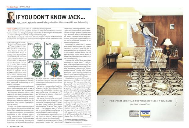 Article Preview: IF YOU DON'T KNOW JACK..., May 2004 | Maclean's