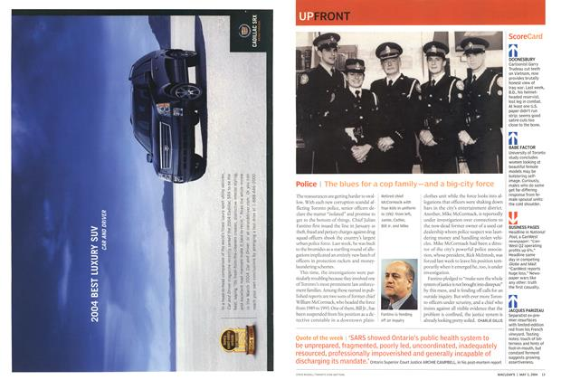 Article Preview: Police, May 2004 | Maclean's