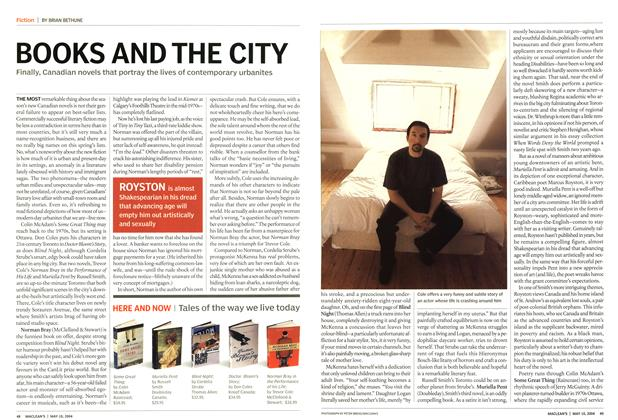 Article Preview: BOOKS AND TH E CITY, May 2004 | Maclean's