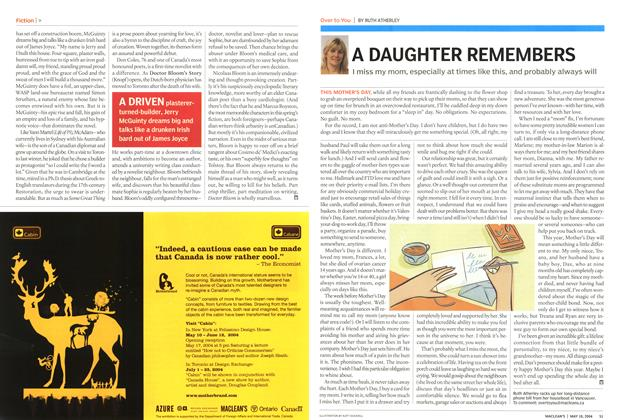 Article Preview: A DAUGHTER REMEMBERS, May 2004   Maclean's
