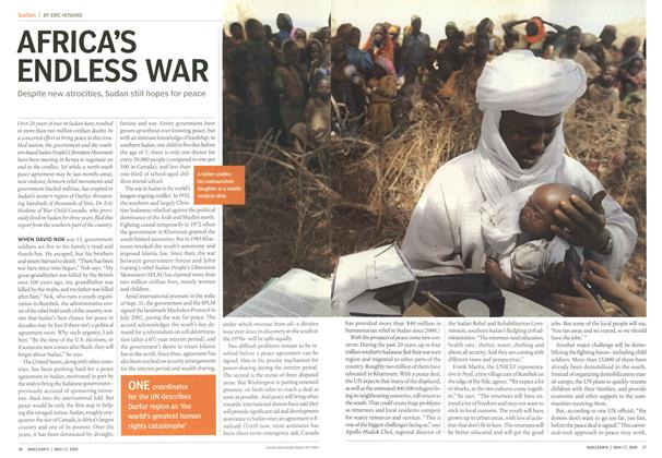Article Preview: AFRICA'S ENDLESS WAR, May 2004 | Maclean's
