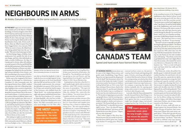 Article Preview: NEIGHBOURS IN ARMS, May 2004 | Maclean's
