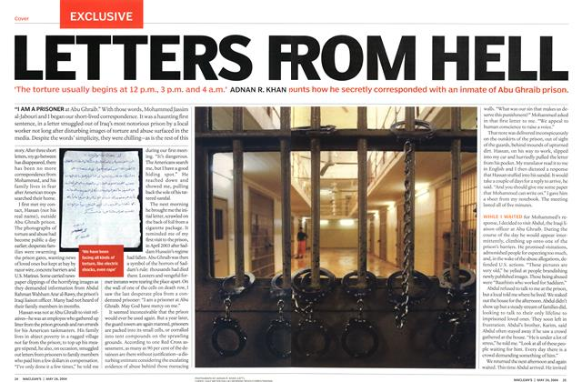 Article Preview: LETTERS F ROM HELL, May 2004 | Maclean's