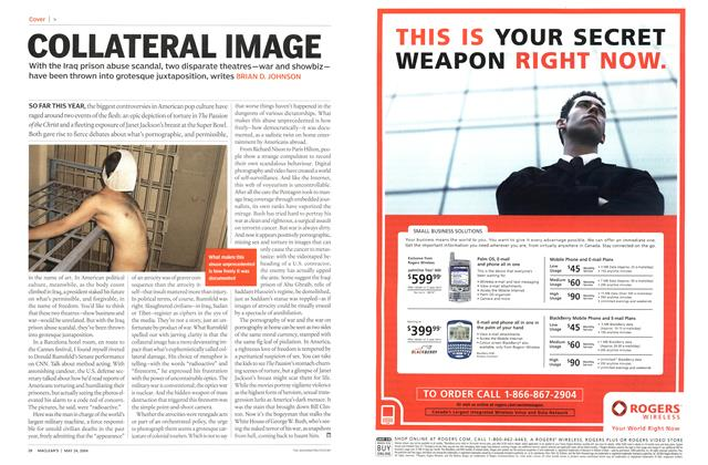 Article Preview: COLLATERAL IMAGE, May 2004 | Maclean's