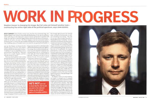 Article Preview: WORK IN P ROGRESS, May 2004 | Maclean's