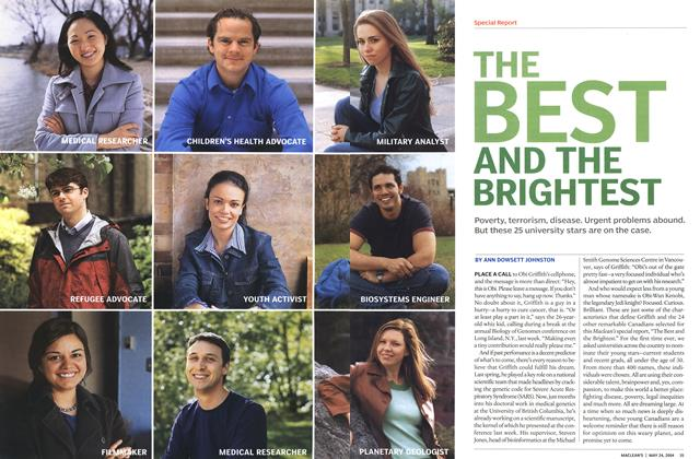 Article Preview: THE BEST AND THE BRIGHTEST, May 2004 | Maclean's