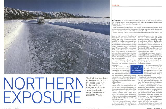 Article Preview: NORTHERN EXPOSURE, May 2004 | Maclean's