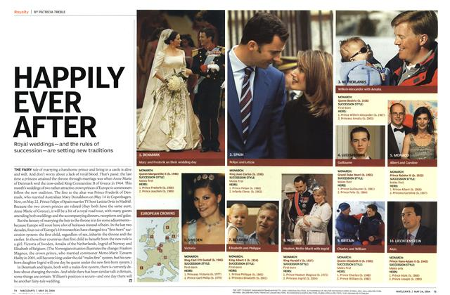 Article Preview: H APPI LY EVER AFTER, May 2004 | Maclean's